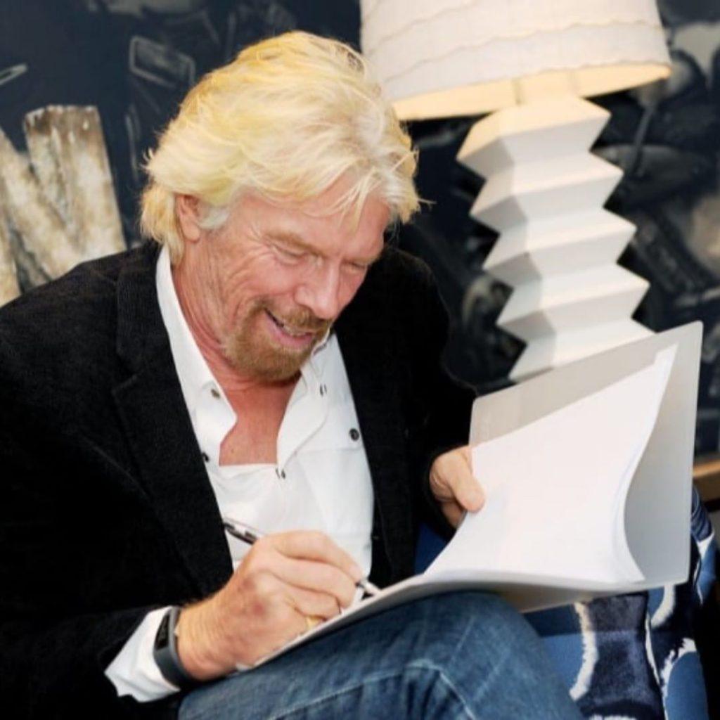 Richard Branson. inspiring Instagram Accounts to Follow