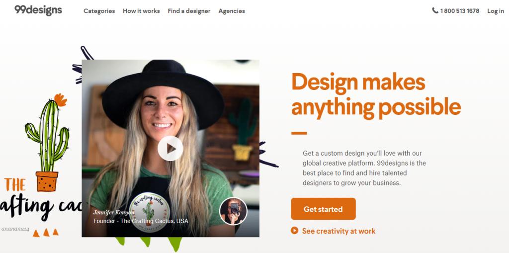 99designs - best online graphic design marketplace