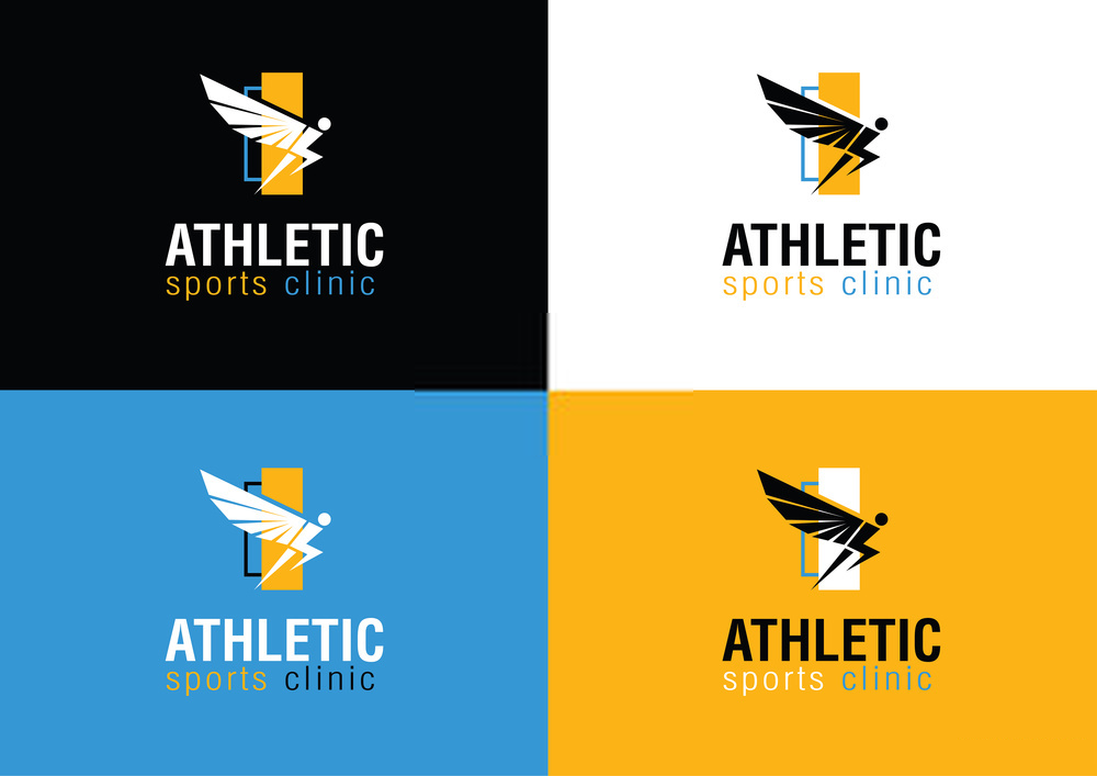 Bold Physical Fitness Logos