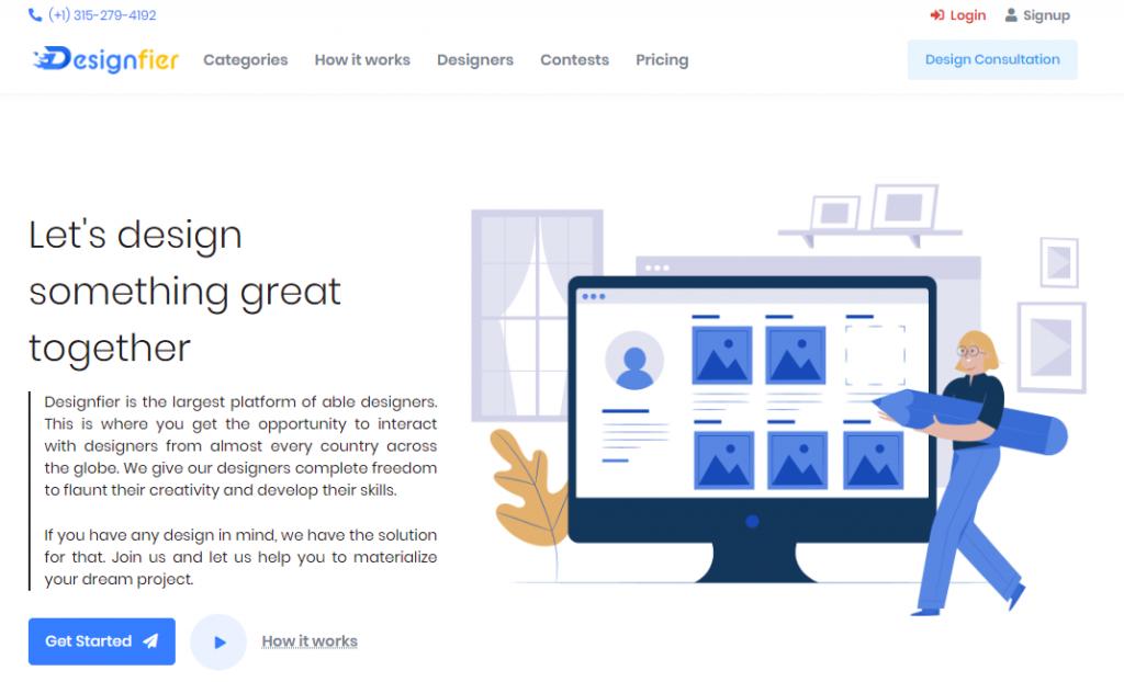 Designfier - Online Graphic Design Marketplace