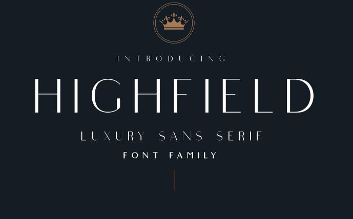 Highfield Free Font