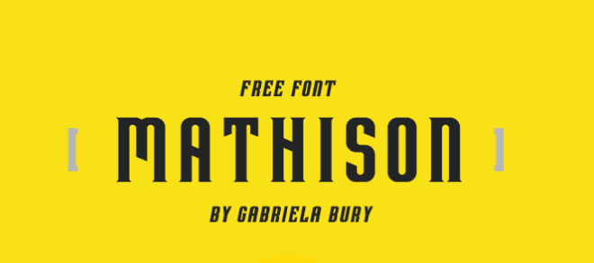 Mathison Font