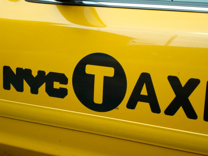NYC Taxi - Bad Logo Designs