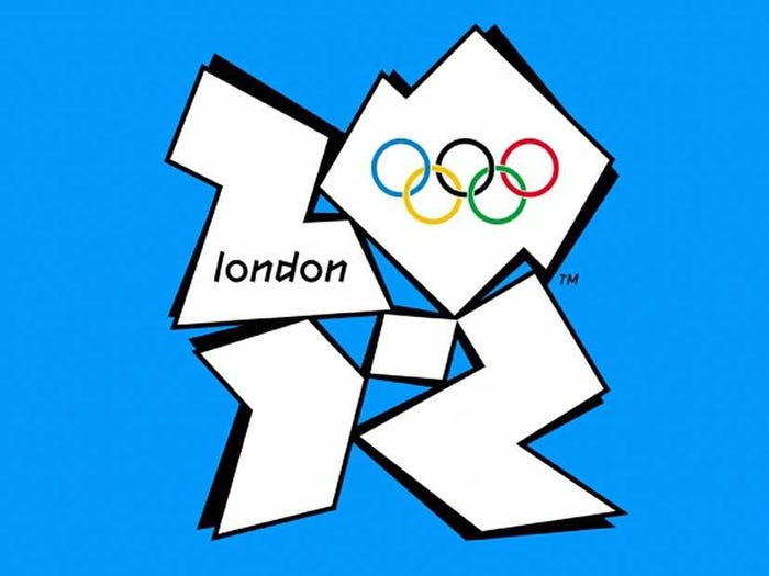 2012 London Olympics Logo - Bad Logos
