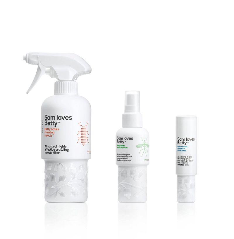 repellent bottle packaging design idea