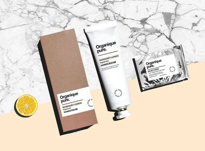 organic product packaging design
