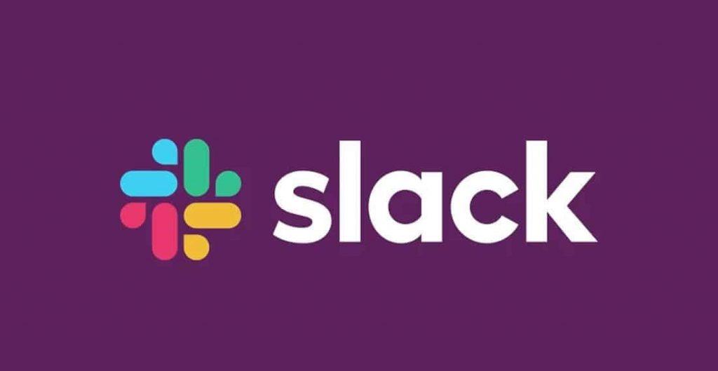 Slack modern logo design